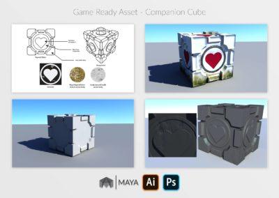 Companion Cube Display