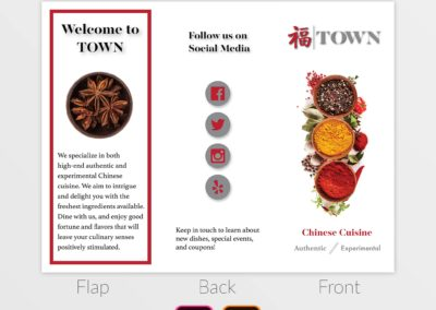 TOWN Trifold Display 1